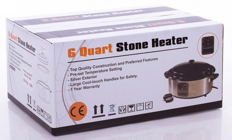 6 quart stone heater