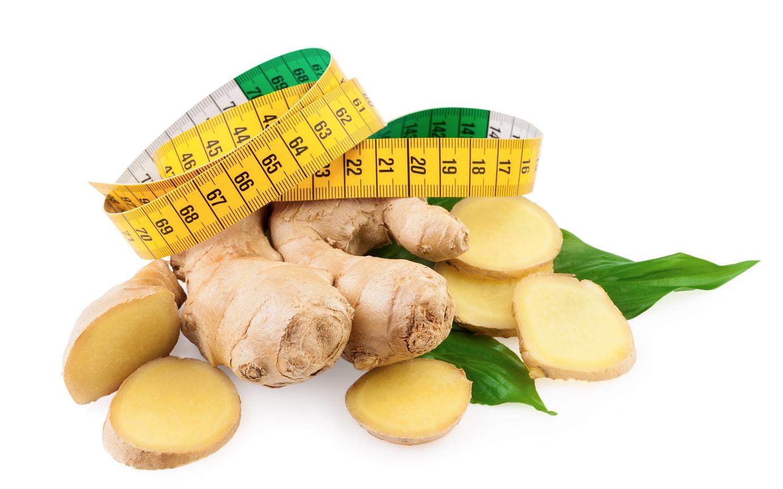 Ginger Diet Concept